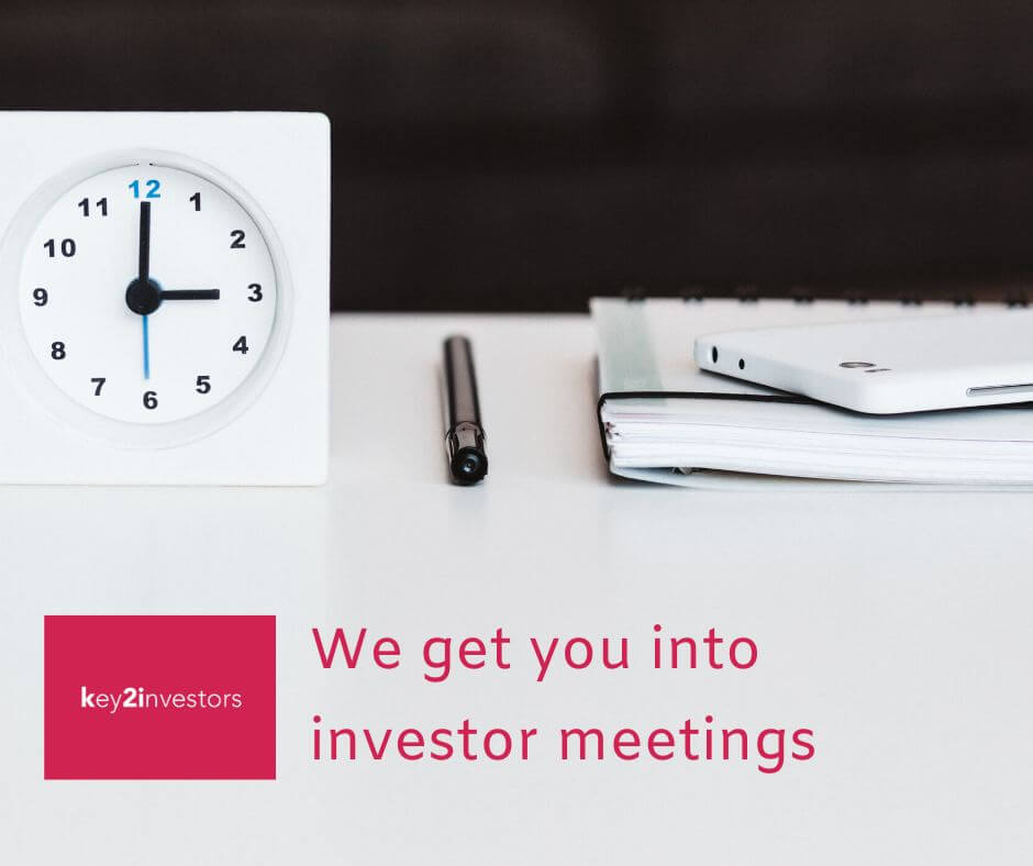 We Get You Into Investor Meetings