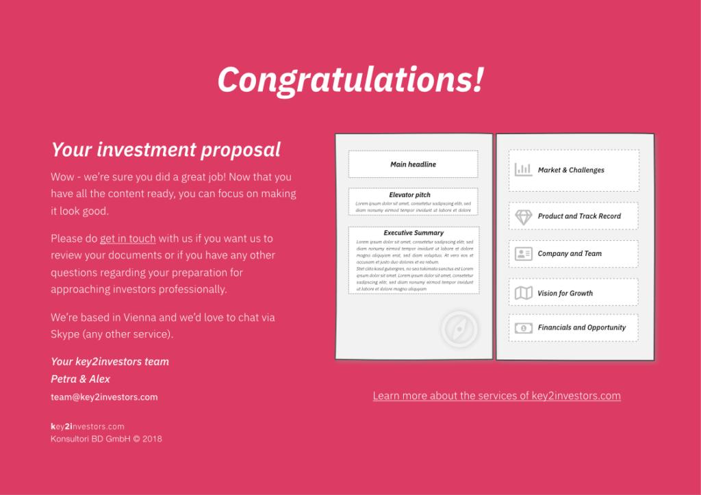Investment Proposal Teaser Deck Slide16