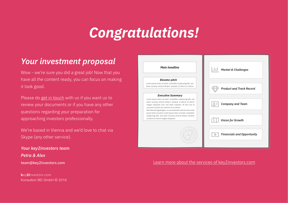 Investment Proposal Teaser Deck Slide16