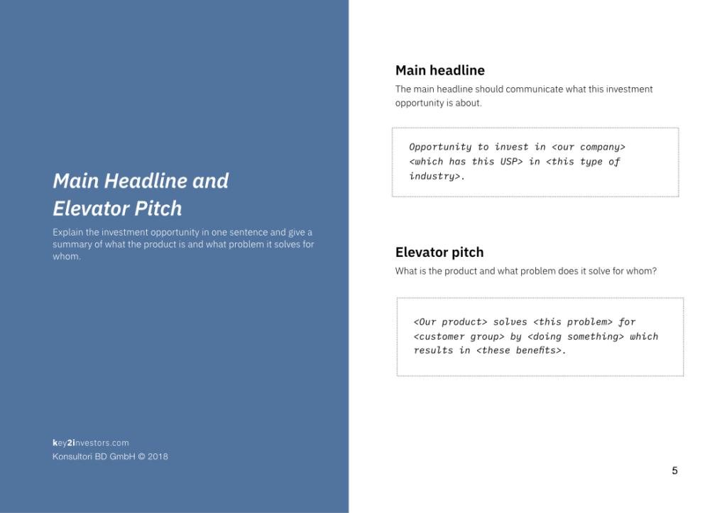 Investment Proposal Teaser Deck Slide5