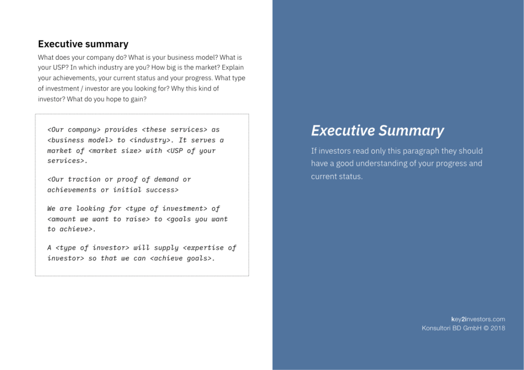 Investment Proposal Teaser Deck Slide6