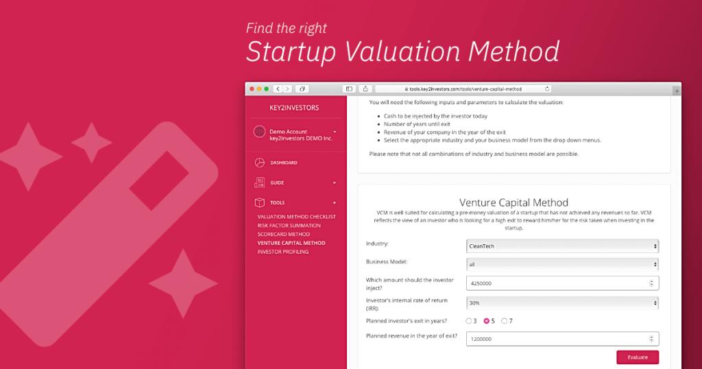 Venture Capital Valuation Method