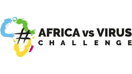 #AfirkaVsVirus Logo Copyright #AfrikaVsVirus
