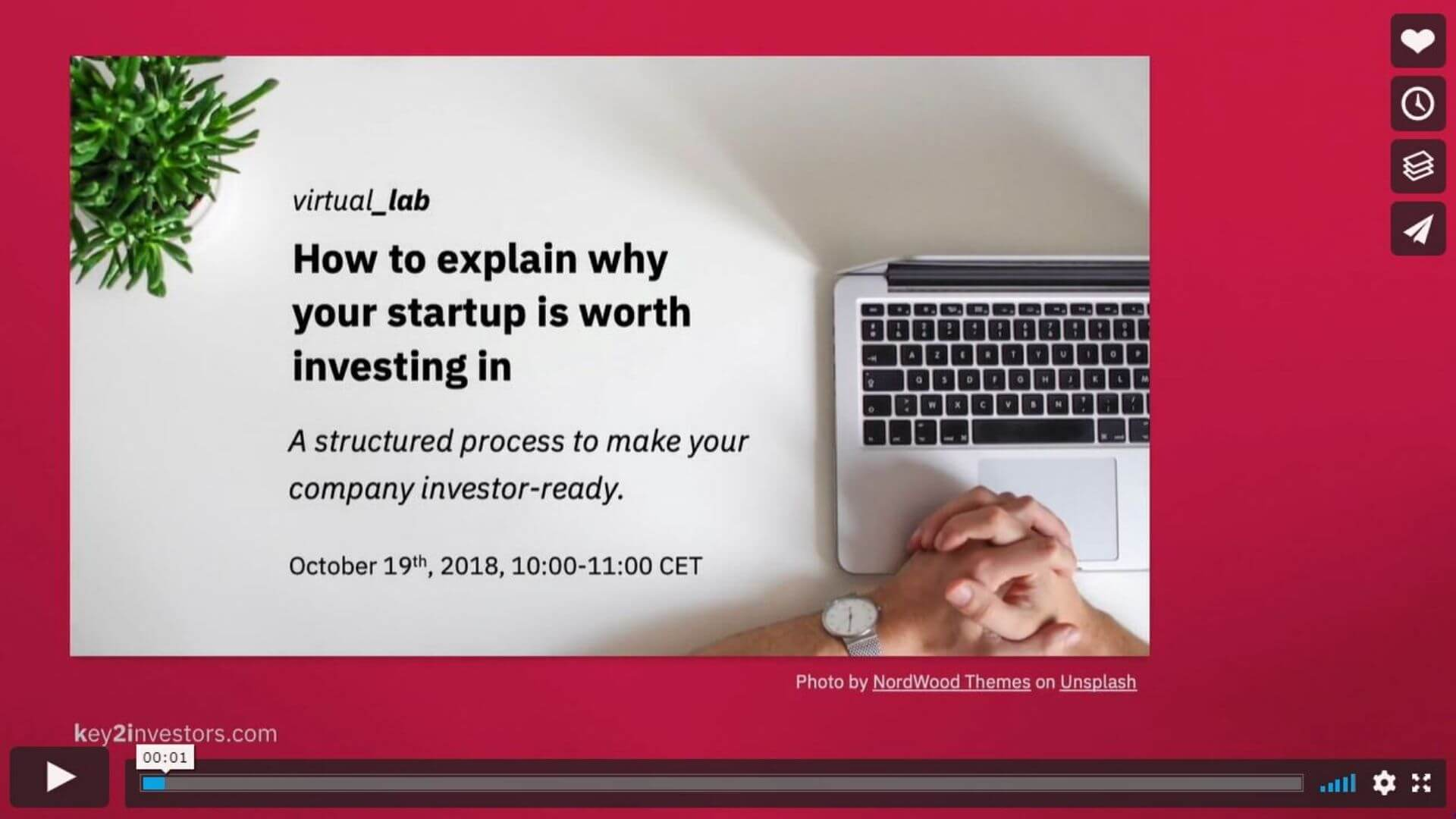 Key2investors Video Slide