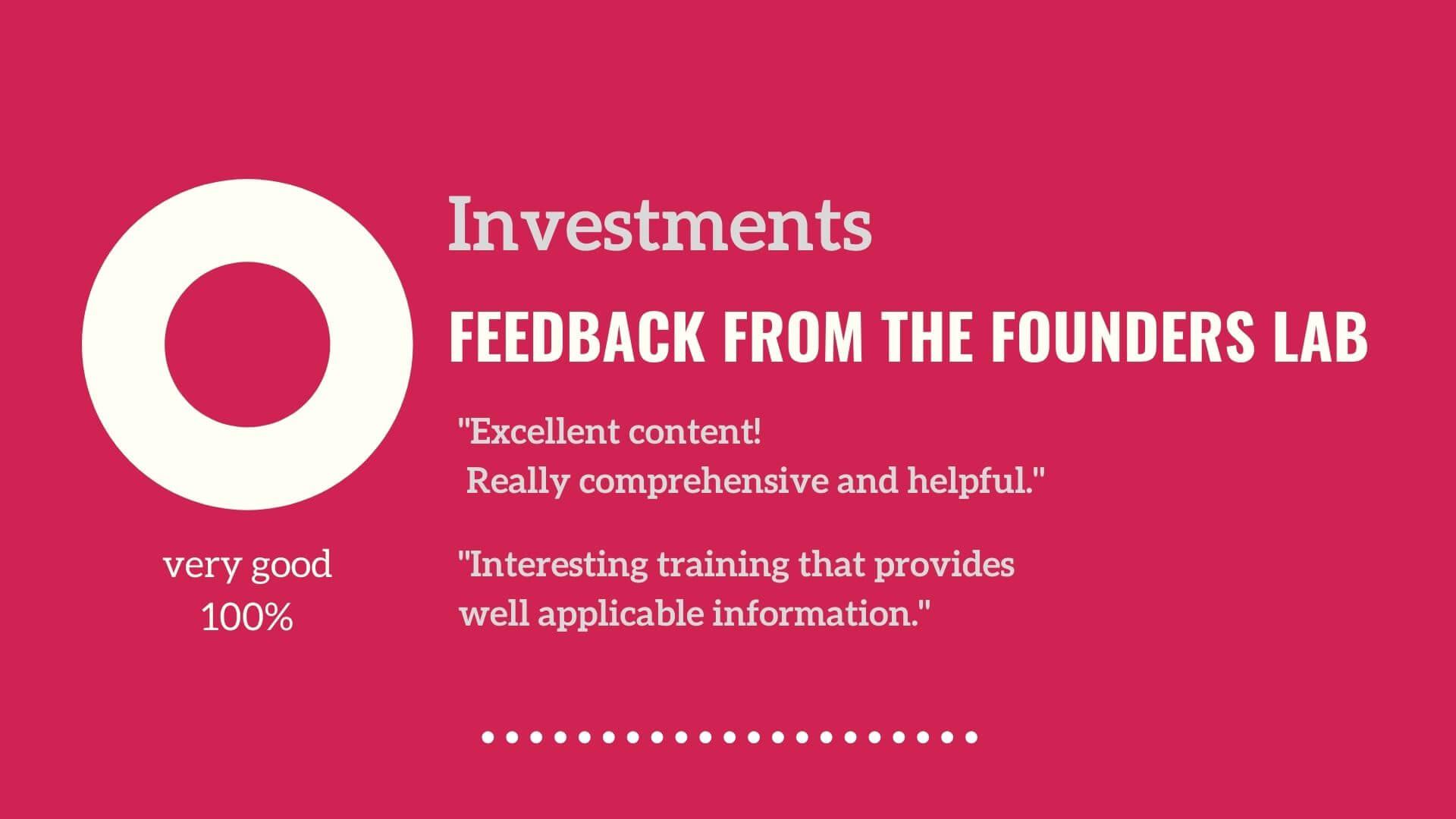 feedback key2investors Vienna Business Agency